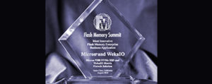 Flash Memory Summit 2019 Recap: WekaIO wins again!