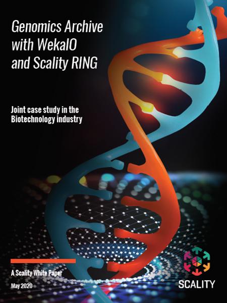 WekaIO Genomics Archive