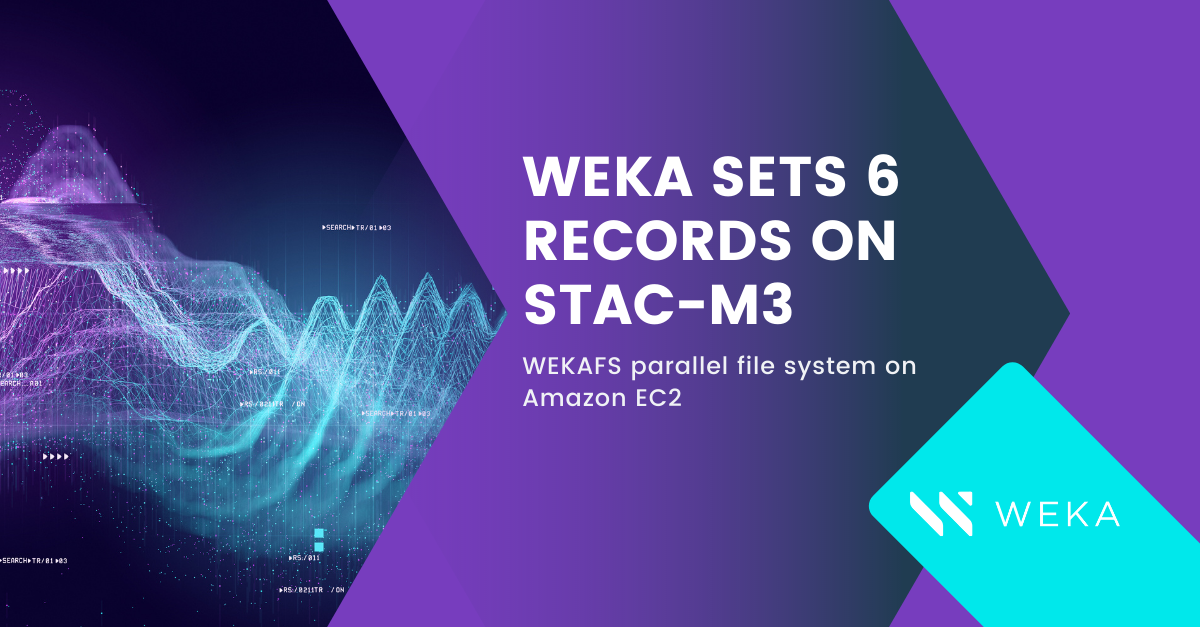 Quants and Algorithmic Traders Derive Fastest Time to Insights and Time to Market with WekaFS™ on AWS